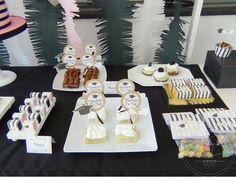 SD Eventos: GRADUACIÓN Mesa dulce graduación Graduation party pink and black party Graduation Sweet table Golosinas personalizadas