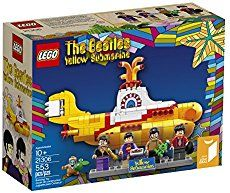 LEGO Beatles Yellow Submarine 21306 RETIRED NIB Factory Sealed. Fans of LEGOs and The Beatles can combine two of their interests with the LEGO Ideas Yellow Submarine set. It gives you the chance to build a replica of the famous Yellow Submarine. Toys R Us, Kids Toys, The Beatles, Beatles Songs, Lego Sets, Liverpool, Buy Lego, Shop Lego, Sub Brands