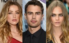 'London Fields' Cast: Amber Heard, Theo James, Cara...: 'London Fields' Cast: Amber Heard, Theo James, Cara Delevingne & More… #AmberHeard