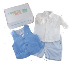 Baby Boys Early Days 3 Piece Summer Smart Set Spanish style
