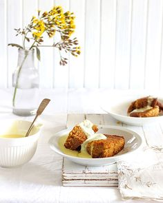 Stodgy, dense, moist – this basic sponge pudding dates back to the Swimming in a pool of warm custard, it's a comforting grandma food hug. Oven Chicken Recipes, Dutch Oven Recipes, Cooking Recipes, Cooking Ideas, South African Dishes, South African Recipes, Sago Recipes, Recipies, Salted Caramel Fudge