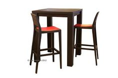 Made to Measure Denver Solid Oak Bar Table