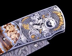 The Engraver's Cafe - The World's Largest Hand Engraving Community - Serenity Koi Fish