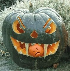 halloween pumpkin ideas LOVE IT!
