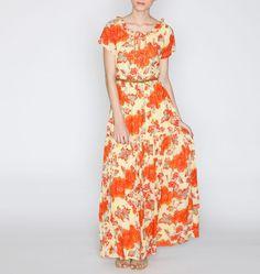 Pranav Lily Printed Maxi Dress