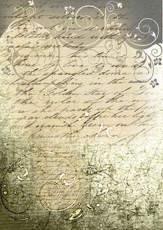 Free Printable ~ Vintage Journal Paper