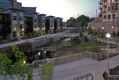 https://flic.kr/p/6B7mYu | Thornton Creek Water Quality Channel in the evening | More project info at www.svrdesign.com/tcwqc.html