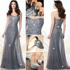 Elegant dress for elegant lady!  Find More: http://www.imadictedtoyou.com