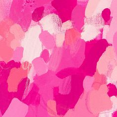 Katherine Jury : point couleur #21 >> www.lesconfettis.com/katherine-jury Rose Art, Le Point, Pink Color, Girly, Artwork, Inspiration, Collection, Hot Pink Roses, Abstract