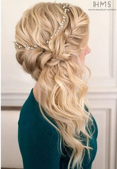 110 Wedding Hairstyles for Long Hair from Hair and Makeup by Steph   Hi Miss Puff - Part 3