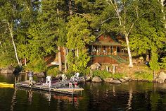 Adirondack Cabins On the Lake - Bing images