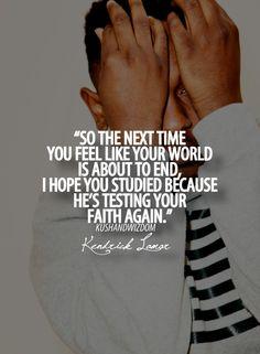 Kendrick Lamar, my boyy.