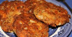 Commonly known as croquettes, salmon is combined with fresh parsley and seasonings, crushed saltine crackers and egg, shaped into patties and pan fried for an old southern favorite.