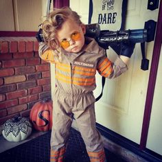 The Other Kids Had Better Watch Out for Tiny Holtzmann This #Halloween