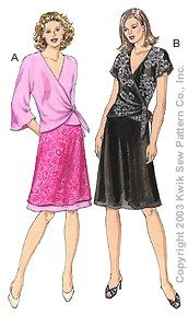 Kwik Sew 3179 from Kwik Sew patterns is a Misses' Tops & Skirts sewing pattern
