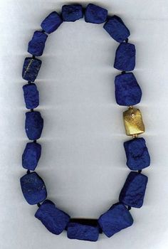 Christopher Walling Jewelry - Afghan Lapis necklace