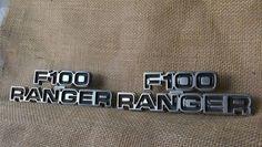 1978  Ford F-100 Ranger Emblems Vintage Ford Emblems Ford