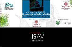 "Chuchito Valdés brinda un mágico homenaje a su abuelo el músico Bebo Valdés, en esta 4ta. edición del Festival Internacional de Música Cancún esta noche en punto de las 20:00 hrs en Sandos Cancún.  Chuchito Valdes' magical tribute to his grandfather musician, Bebo Valdes, on this 4th. edition of ""Festival Internacional de Música Cancún"" tonight at 20:00 hrs at Sandos Cancun."