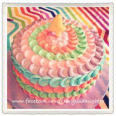 Colorful Cake by Cheryll's Daughter Kansas City