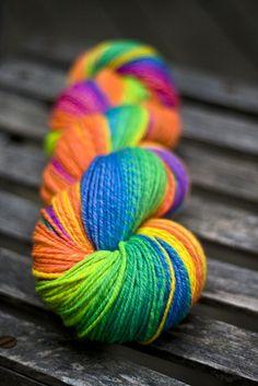 Colors of the rainbow - Yarn