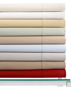 One day Chris and I will buy these sheets! Hotel Collection Bedding, 600 Thread Count Egyptian Cotton Sheets. Macy's.