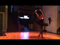 Hooping Ballerina Untitled Improvisation - YouTube