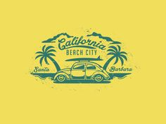 In this post, I'll showcase 75 Vintage Logo Designs from designers around the world to help you get some creative ideas for your next logo design project. Logos Vintage, Vintage Logo Design, Retro Logos, Retro Design, Retro Vintage, Ideas Vintage, California Logo, California Beach, California Camping