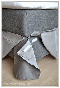 ElisabethsBorg DIY Sengekappe uten ¥ sy et sting ElisabethsBorg DIY Bed Cover without Sewing a S
