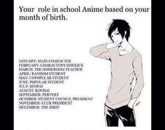 Zodiac anime, I'm main character yasss Birthday Scenario Game, Birthday Games, Otaku Issues, Anime Zodiac, Anime Rules, Zodiac Star Signs, Student Council, Manga Anime, Funny Memes