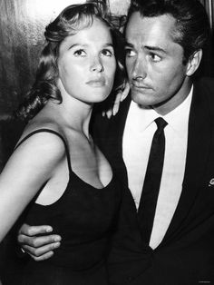 Ursula Andress and John Derek...The First Marriage For The Actress & the Director...
