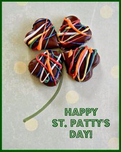 Sugar Swings! Serve Some: Rainbow Inside Shamrock Cookies