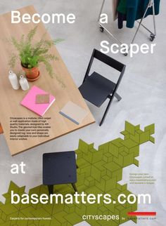Become a scaper Carpet Tiles, Design Your Own, How To Become, Shapes, Studio, Create, Interior, Furniture, Home Decor
