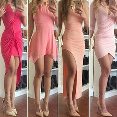 Imagen vía We Heart It #dress #fashion #pink #shoes #style
