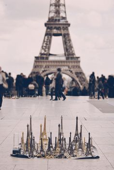 Eiffel Towers...