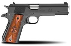 Springfield Armory: 1911 Mil-Spec .45ACP Pistol. One of the better clones of the original Colt 1911. I'd love this parkerized, with the black grips. Such a classic!