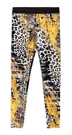 LIGHTWEIGHT PRINT LEGGINGS Print Leggings, Fashion, Pants, Women, Fashion Styles, Printed Leggings, Fashion Illustrations, Trendy Fashion, Moda