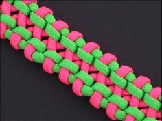 How to Make the Noisebridge Bar (Paracord) Bracelet by TIAT