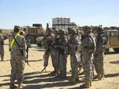 299th from Fort Riley during Decisive Action Rotation 13-04 in the National Training Center at Fort Irwin.
