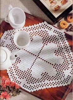 World crochet: Napkin 249