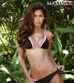 Dayana Mendoza... I only know who she is because I watch The Apprentice and she is GORGEOUS, smart, and has a perfect body. Who said you can't have beauty and brains?