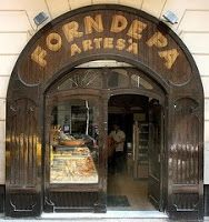 "Tot el nostre #pa és de forn artesà! ""1900 Bread Shop. One of the oldest in Barcelona #Catalonia"""
