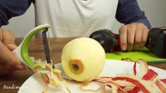 Don't waste anymore time peeling an apple until you try this.