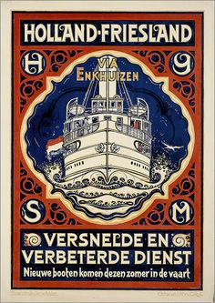 ART & ARTISTS: Vintage Dutch Posters