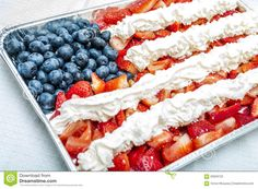 American Flag Made Of Food - Download From Over 45 Million High Quality Stock Photos, Images, Vectors. Sign up for FREE today. Image: 59059723