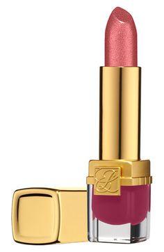Estée Lauder 'Pure Color' Crystal Lipstick available at #Nordstrom  - Lavish pink (peach paradise 13')