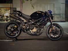 Ducati Monster (via Bikers Cafe)