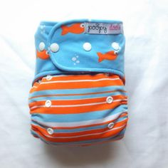 Fish in Water AI2 :: Poopy Doo Cloth Diapers