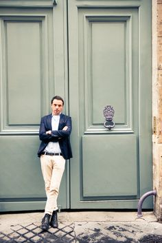 Because, when in Paris, do as the Parisians do, right? http://www.thecoveteur.com/franck-durand/