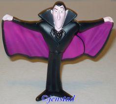 Hotel Transylvania 1 Dracula Flappin Cape McDonalds 3 75 Toy Figure Used 2012