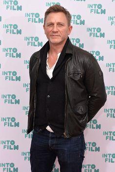 Daniel Craig Leather Jacket Style